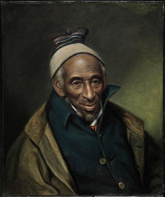 Portrait of Yarrow Mamout (Muhammad Yaro)