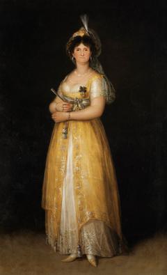 Portrait ofi Maria Luisa di Parma
