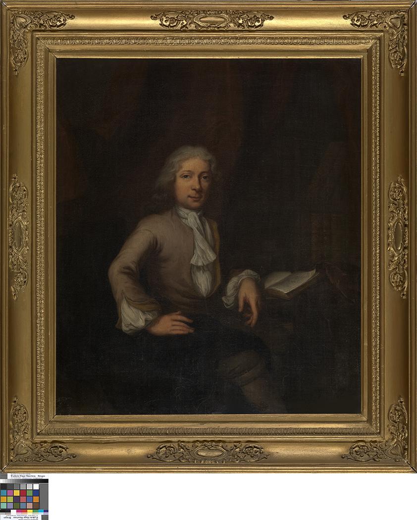 Portret van een dichter