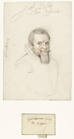 Portret van Graef Willem van Nassowien