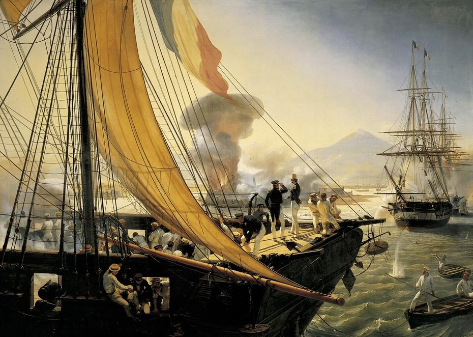 Prise du fort Saint-Jean-d'Ulloa, 27 novembre 1838