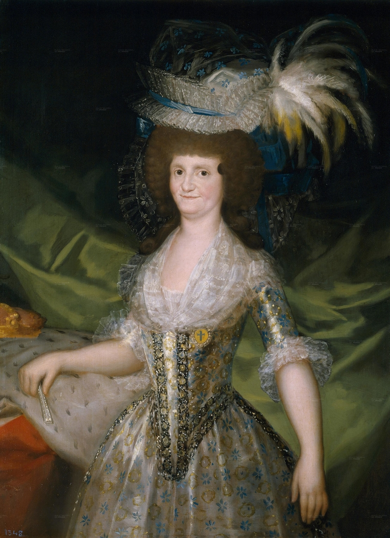 Queen of Spain Maria Louisa, née Bourbon-Parma