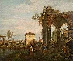 Ruins with Figures