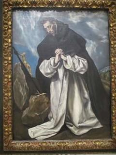 Saint Dominic in Prayer