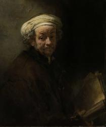 Self Portrait as the Apostle Paul