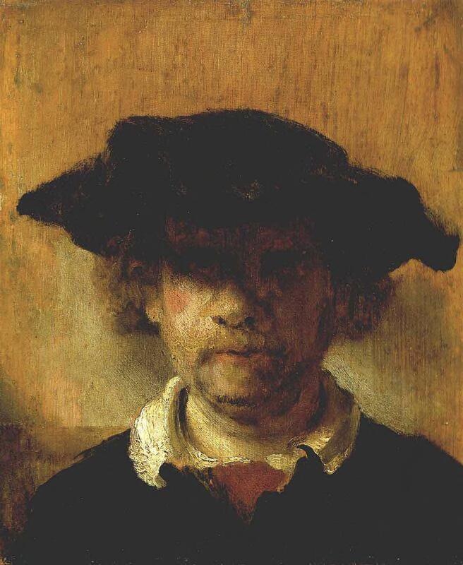 Self-portrait or Portrait of Rembrandt van Rijn