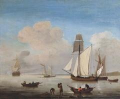 Shipping in an Estuary