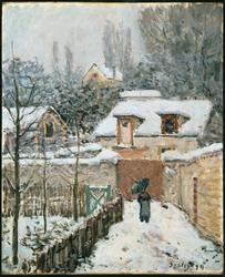 Snow at Louveciennes