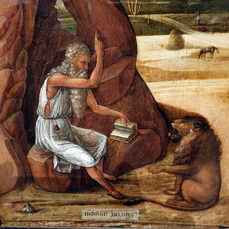 St. Jerome in the desert