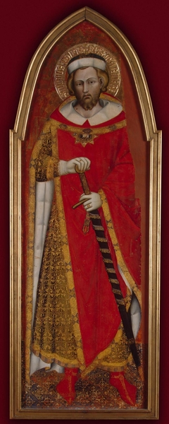 St Pontianus (wing of a polyptych)