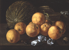 Still Life with Lemons and Nuts