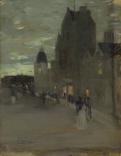 Street in Oban, Night