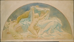"""Study for """"The Unveiling of Truth,"""" Museum of Fine Arts, Boston"""
