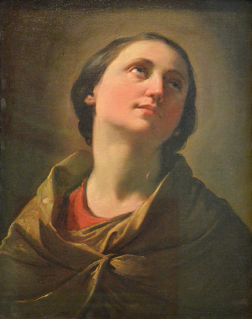 Study of a Young Woman, Head and Shoulders