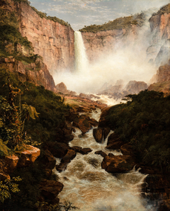Tequendama Falls, Near Bogota, New Granada