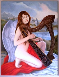 The Angel with the Harp