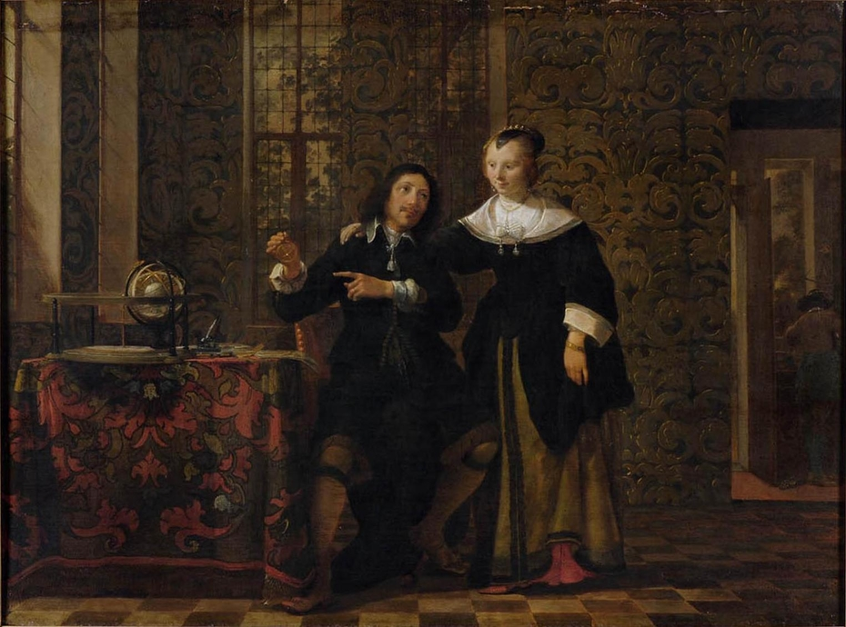 The Astronomer And His Wife