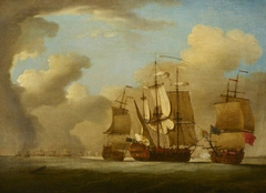 The Capture of the Spanish galleon St Joseph, 23 September 1739