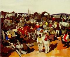 The Fair in Csíkszereda