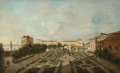 The Garden of Palazzo Contarini dal Zaffo