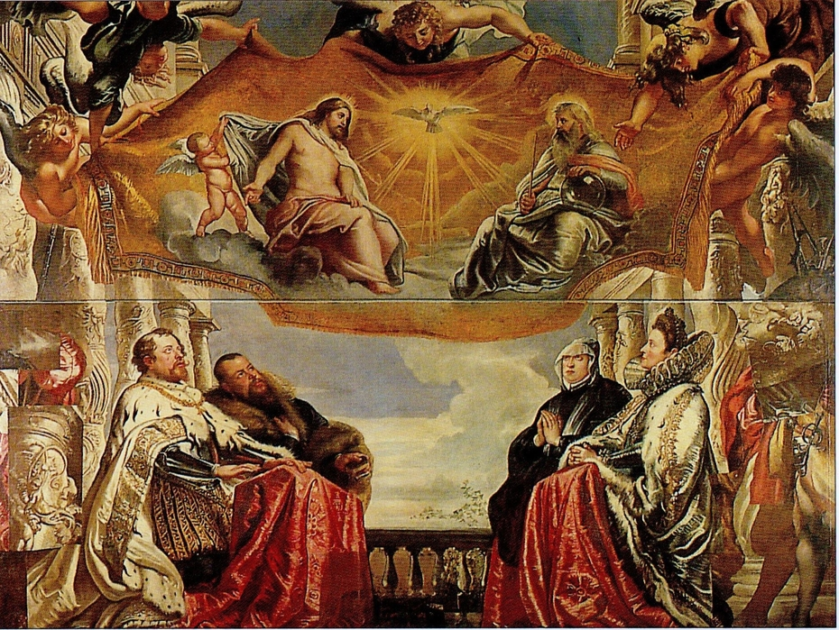 The Gonzaga Family in Adoration of the Holy Trinity