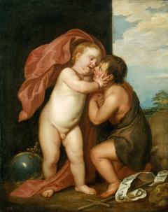 The Infant Christ and St John the Baptist