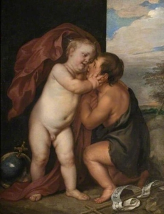 The Infant Christ with St John