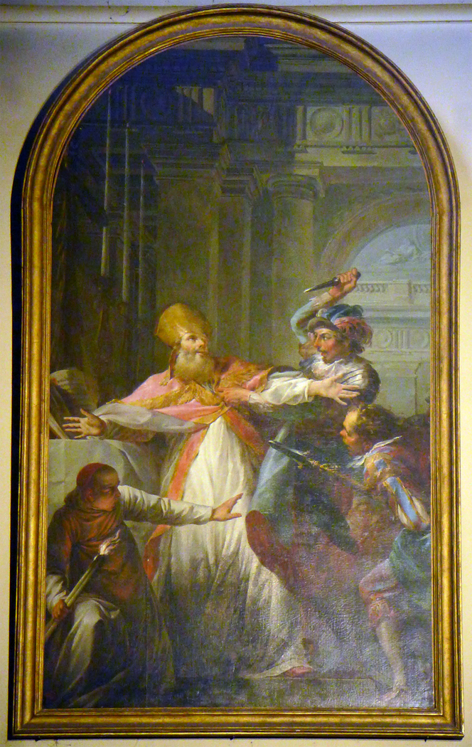 The martyrdom of Saint Thomas Becket