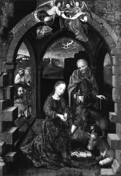 The Nativity with the Adoration of the Shepherds