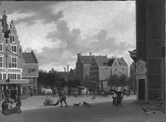 The Nieuwmarkt, Amsterdam