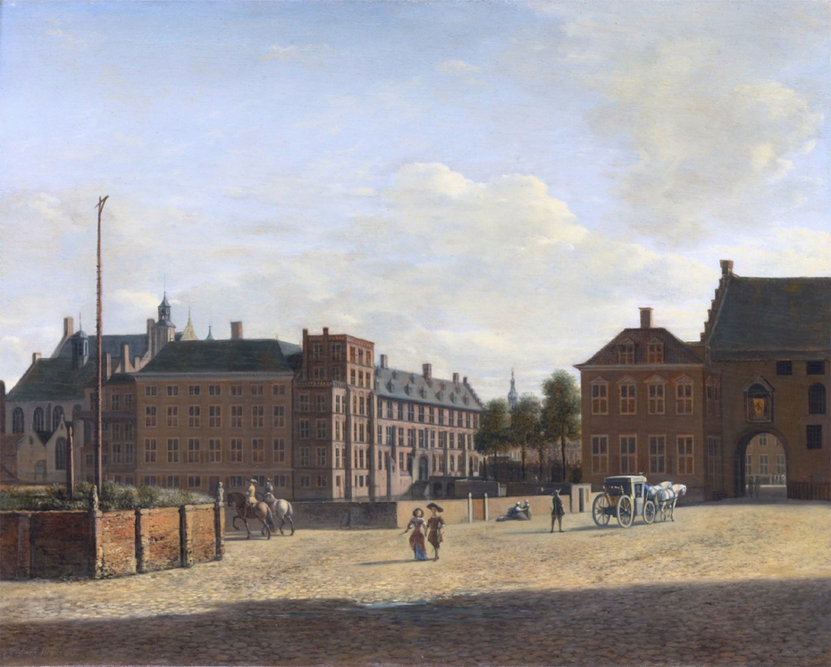 The Plaats with the Binnenhof and the Gevangenpoort, The Hague