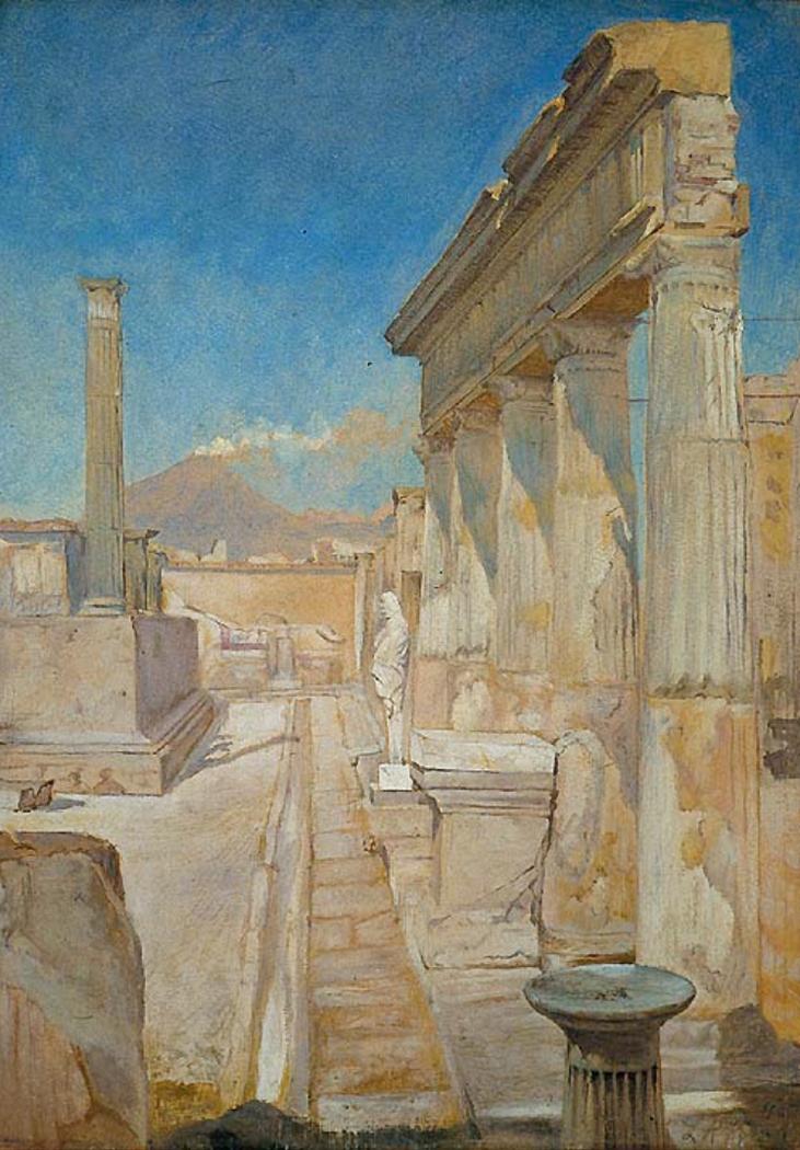The Temple of Apollo, Pompeii