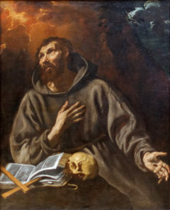 The Vision of St Francis of Assisi