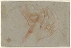 Twee gevouwen handen