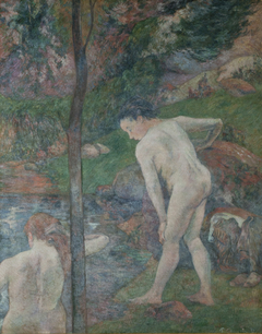Two Bathers