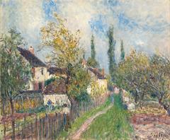 Un sentier aux Sablons [A path at Les Sablons]