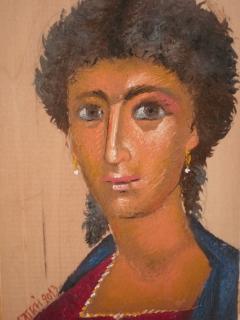 Portrait of Praxinoe
