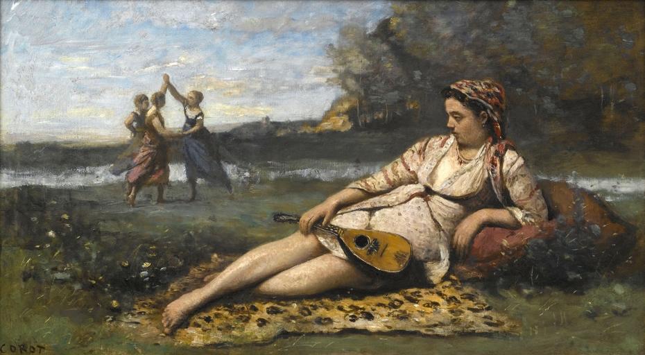 Young Women of Sparta (Jeunes filles de Sparte)