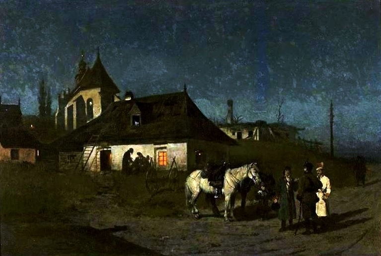 Insurgents during the night