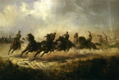 Charge of the artillery (Charge of Russian horse artillery)