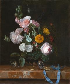 Vanitas Flower Still Life