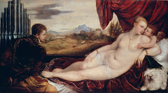 Venus with the Organ Player