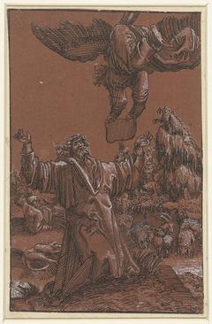 Verkondiging aan Joachim van de geboorte van Maria
