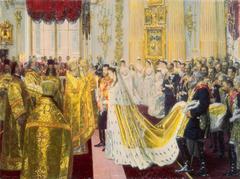 Wedding of Nicholas II and Grand Princess Alexandra Fyodorovna
