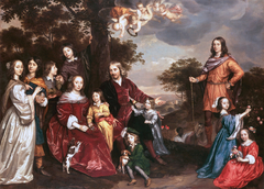 Willem van den Kerckhoven and his Family