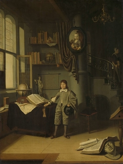 Young Man in a Study