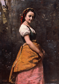 Young Woman in the Woods