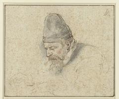 (Zelf)portret van Hendrik Avercamp